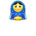 girl, matreshka, matrioshka, mother, open, toy, woman icon