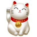 cat, hello, kitty, maneki neko icon
