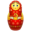 doll, icojam, matreshka, matrioshka, mother, russia, toy icon