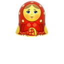 doll, matreshka, matrioshka, mother, open, toy, woman icon