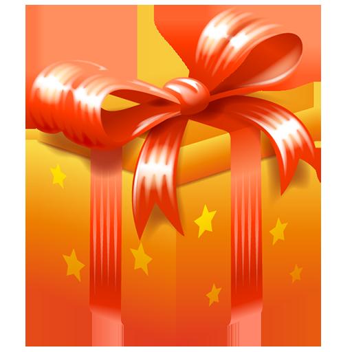 bonus, gift, present, ribbon icon
