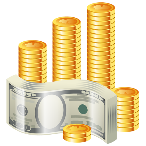 cash, coins, dollar, money, riches, wealth icon