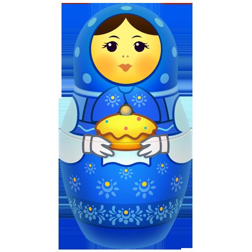 icojam, matreshka, matrioshka, mother, russia, souvenir, toy icon