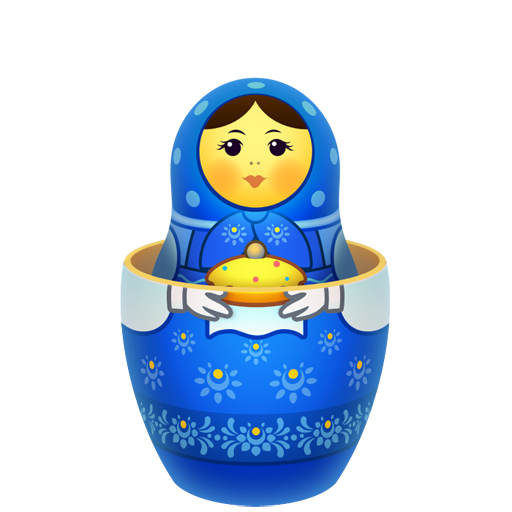baby, inside, matreshka, matrioshka, mother, open, souvenir icon