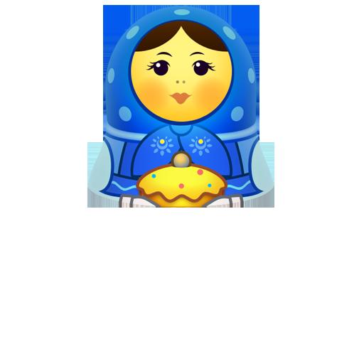 girl, matreshka, matrioshka, mother, open, toy, woman icon