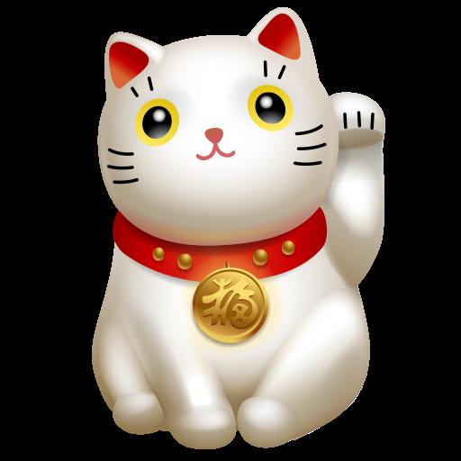 cat, clients, hello, icojam, kitty, maneki, maneki neko icon