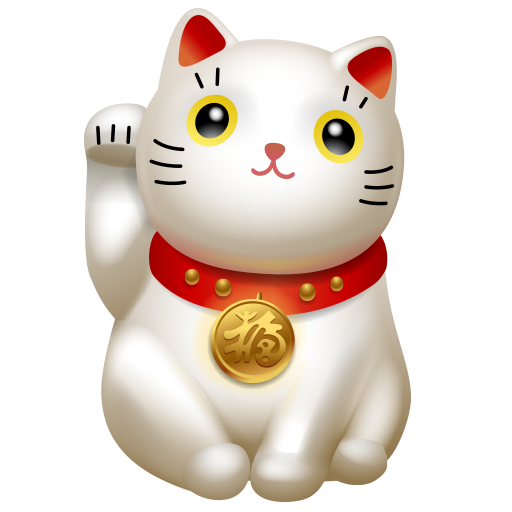cat, clients, kitty, maneki neko, traffic icon