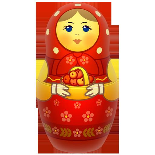 doll, icojam, matreshka, matrioshka, mother, russia, toy icon