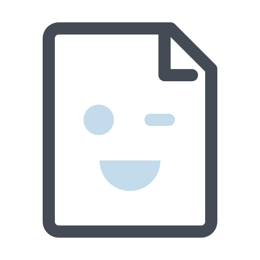 File, note, pdf, wink icon - Free download on Iconfinder
