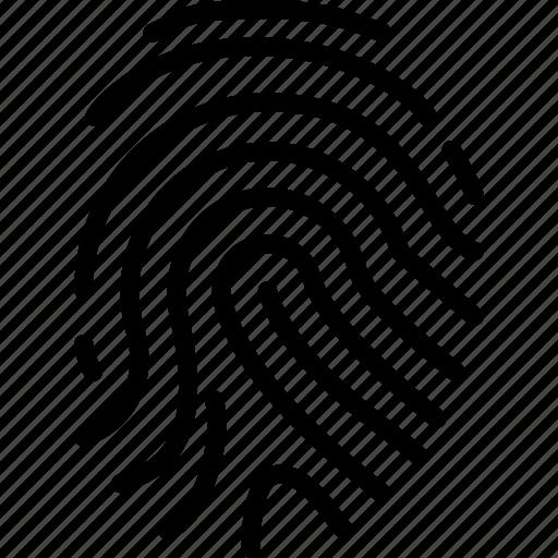 finger, gesture, hand, print, printer icon
