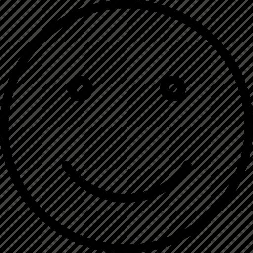 emoticon, expression, face, smile, smiley icon