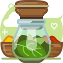herbs, ingredients, orient, pepper, seasoning, spices, yumminky icon