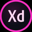 adobe, design, prototype, tools, xd icon