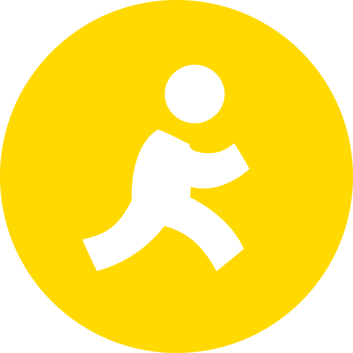 aim, aol, instant, messenger icon