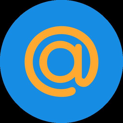 mail, network, ru, russia, social icon