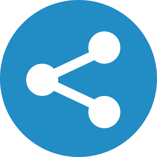 communication, link, network, share, sharing icon