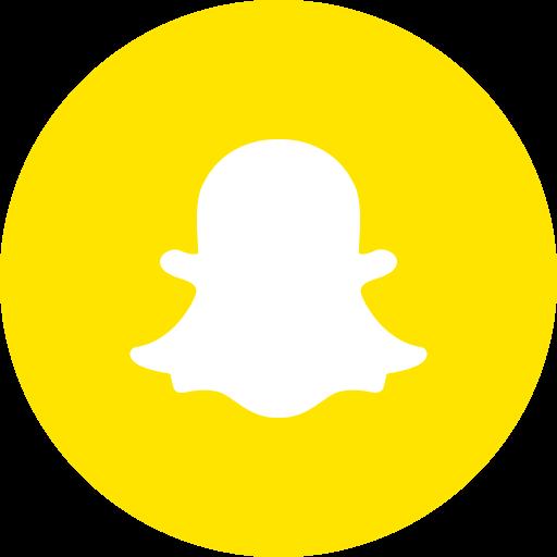 chat, internet, logo, online, snapchat, social icon