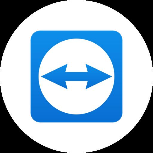 control, desktop, remote, teamviewer, web icon