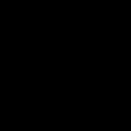 dropbox, square icon