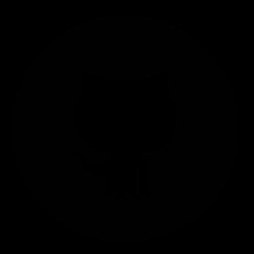 circle, github icon