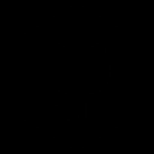 github, six icon