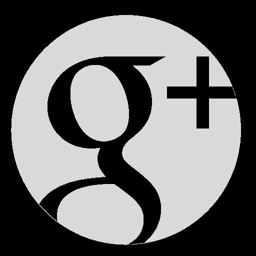 circle, google, gray icon