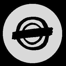 circle, gray, neilorangepeel icon