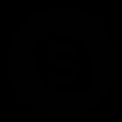 circle, skype icon