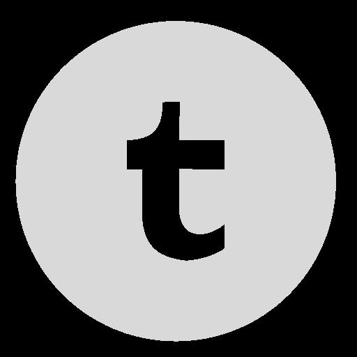 circle, gray, tumblr icon