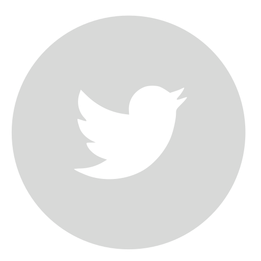 circle, gray, twitter icon