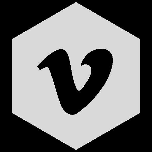 gray, six, vimeo icon