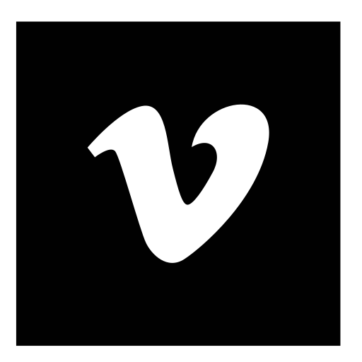 square, vimeo icon