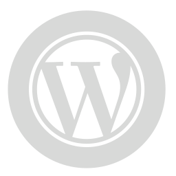circle, gray, wordpress icon