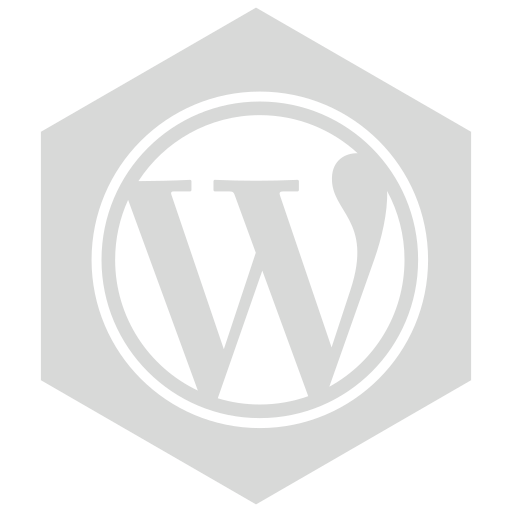 gray, six, wordpress icon