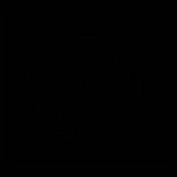 square, wordpress icon