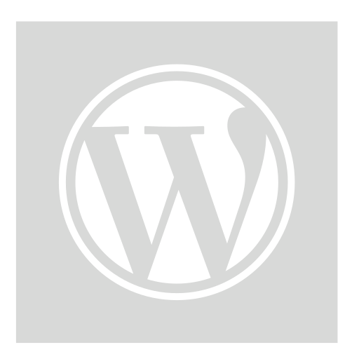 gray, square, wordpress icon