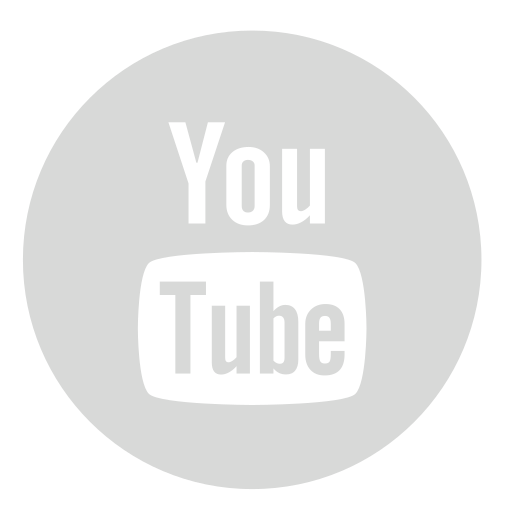Gray, circle, youtube icon - Free download on Iconfinder