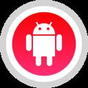 android, logo, media, social
