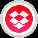 dropbox, logo, media, social