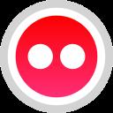 flickr, logo, media, social
