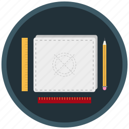 design, drawing, plan, project, prototype, sketch icon