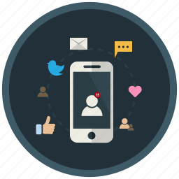 application, mobile, share, smartphone, social, socialmedia, user icon