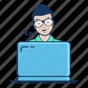 burnout, fatigue, freelancer, occupational, sleep, sleepy, slumber icon