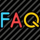 faq, question, support, help, service