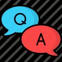 faq, question, support, help, service, speech bubble, question answer