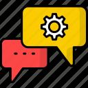 faq, question, support, help, service, tech support, speech bubble