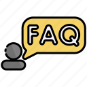 faq, help, question, support, ask, information, answer