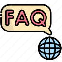 faq, help, question, support, ask, information, world
