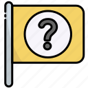 flag, pin, question, help, support, ask, ui