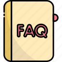 book, faq, help, question, support, information, service